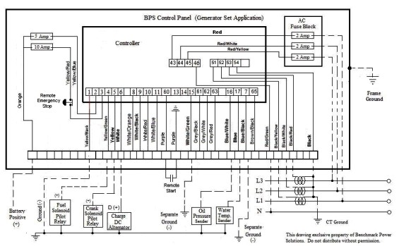 Deep Sea Generator Controller Wiring Diagram